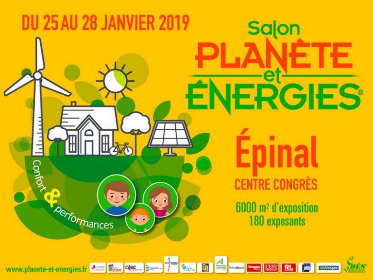 Read more about the article Salon Planète et Énergies au centre des congrès d'Épinal