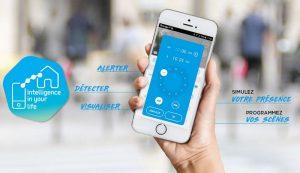 maison connectée avec application smartphone